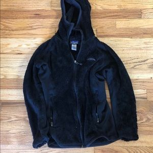 Black Patagonia Fleece Jacket